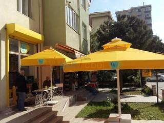 Akaydın şemsiye Modern Garden Aluminium/Zinc Yellow