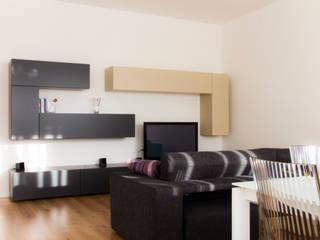 Salon minimaliste par quadrato | studio di architettura Minimaliste