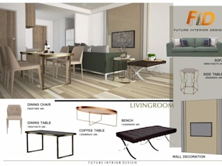 Future Interior Design Co.,Ltd. Living roomSide tables & trays