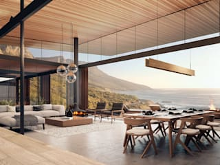 Kunst Architecture & Interiors Modern living room