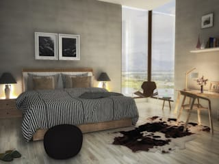 Modern style bedroom by Modo Modern