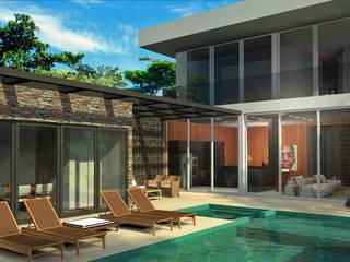 Residência 24B Casas modernas por Plurale Arquitetura Moderno