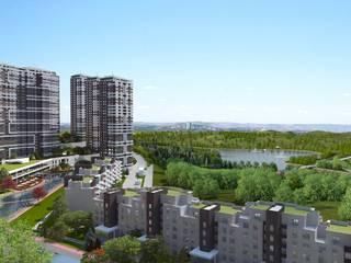 4M Mimarlık – Kaşmir Göl Evleri: modern tarz Evler