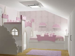 Castelo Menina (3D):   por Kids House