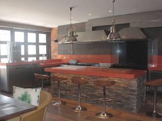 Residência: Cozinhas  por DHN arquitetura,Moderno