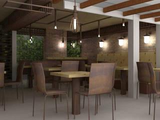 CABETO _ Parrilla y Licores: Locales gastronómicos de estilo  por @tresarquitectos