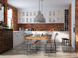 Klasyczna kuchnia w Łowiczu / projekt: styl , w kategorii Kuchnia zaprojektowany przez TETE concept,