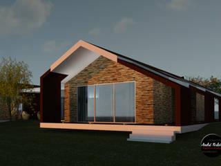 Modern Take on Traditional: Casas  por André Terleira - Arquitectura e Construção