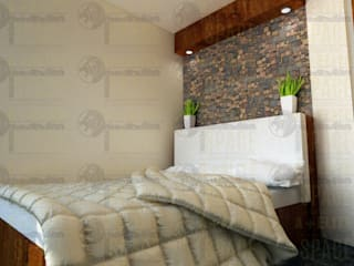 Pineda Residence Modern Bedroom by A+Elite Modern