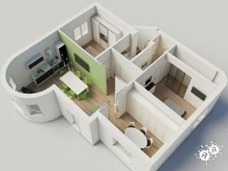 Planimetrie 3D:  in stile  di Rimini Render
