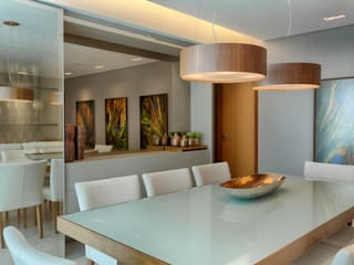 Sala de Jantar : Salas de jantar  por Renata Basques Arquitetura e Design de Interiores