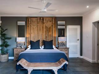 Спальни в . Автор – JSD Interiors, Эклектичный Дерево Эффект древесины