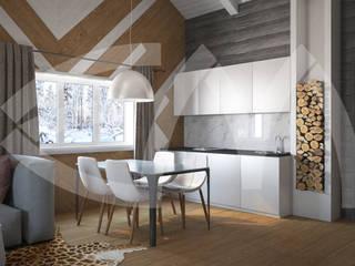 Гостевой дом: Кухни в . Автор – Мастерская дизайна Екатерины Меркель,