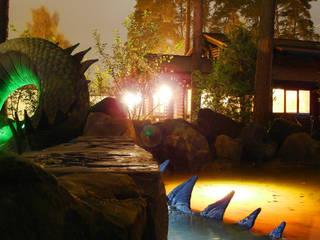 Дракон, частная территория:  в . Автор – Park-design