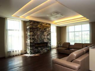 НОВОРИЖСКИЙ МОСКВА частный дом Гостиная в классическом стиле от Gordon-design Классический