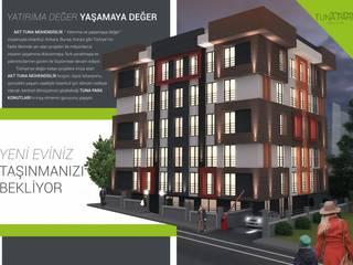 GEKADESIGN – Altıntepe Tunapark / İstanbul: modern tarz Evler