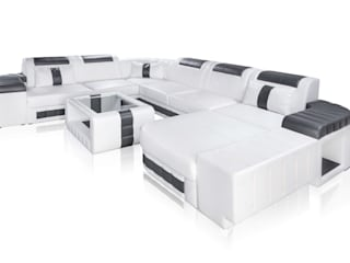 DIVANOVA Living roomSofas & armchairs Fake Leather White