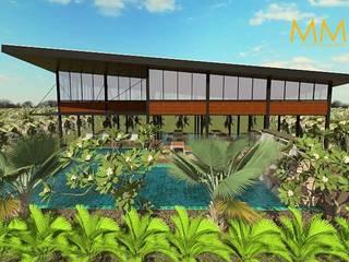 รีสอร์ท บ้านสมฤดี @ ม.ศิลปากร เพชรบุรี DESiGN_BY_SAHAPHOP โดย MM design & development