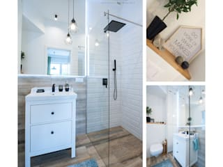 Scandinavian style bathroom by Mlamp Scandinavian