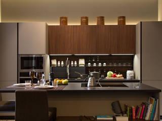 Letamendi -110m²-, Barcelona. Cocinas de estilo moderno de GokoStudio Moderno