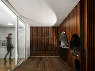 Contaminar Casal Claros Varandas, marquises e terraços modernos por CONTAMINAR Moderno