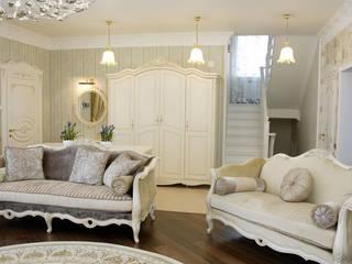 Дом в стиле прованс: Гостиная в . Автор – дизайн-студия Пространство Дизайна,
