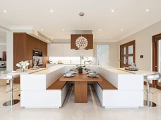 "20140502#04 – KITCHEN WITH A ""U"" ISLAND Modern Kitchen by TM Italia Modern"
