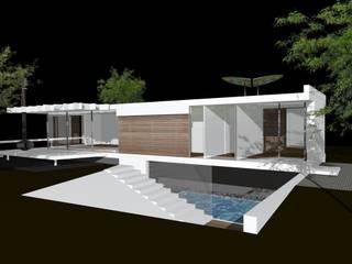 white concept:  Huizen door hans moor architect