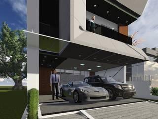Residência Família Streithorst: Casas  por Marco Lima Arquitetura + Design,Moderno