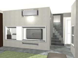 Casa Z1 - Completamento Lavori di casa di Civile Abitazione: Soggiorno in stile  di duedì - studio di progettazione