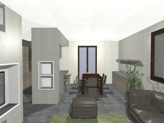 Casa Z1 - Completamento Lavori di casa di Civile Abitazione: Sala da pranzo in stile  di duedì - studio di progettazione