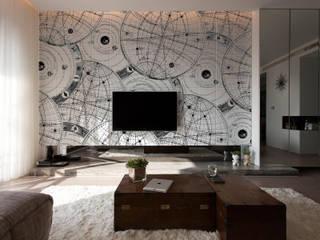 Salas de estar modernas por Massimiliano Toniol Moderno