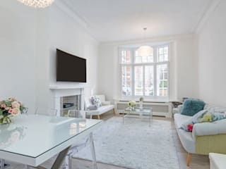 Maida Vale Patience Designs Studio Ltd Living room
