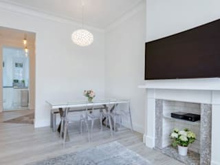 Maida Vale Patience Designs Studio Ltd Modern living room