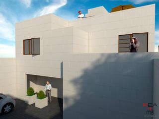 Casa Del Pendón: Casas de estilo moderno por REA + m3 Taller de Arquitectura