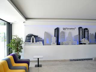 4M Mimarlık – Pimeks Grup İdari Ofisi:  tarz Ofis Alanları