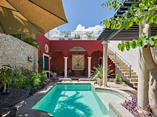 Pool by Merida Arquitectos, Colonial