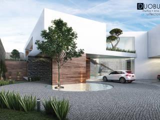 Maisons de style  par DUOBUS M + L arquitectos