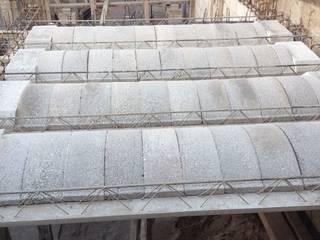 En proceso / Casa FG Paredes y pisos de estilo industrial de Estudio Chipotle Industrial