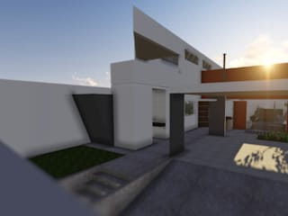 Modern houses by plurAU Modern