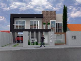 RESIDÊNCIA 01: Casas  por Vinicius Miguel Arquitetura,Moderno