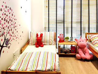 kids room RSDS Architects Tropical style nursery/kid's room