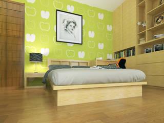 Rumah Tinggal di Jogjakarta:  Kamar Tidur by nonno+associates