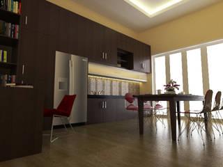 Rumah Tinggal di Jogjakarta:  Ruang Makan by nonno+associates