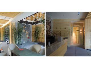 100坪/改造前與改造後整體設計規劃:   by wanchan interior / 萬仟工程有限公司