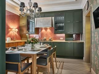 Интерьер вдохновленный цветом Кухня в классическом стиле от дизайн студия Классический