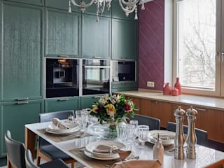 Интерьер вдохновленный цветом: Кухни в . Автор – дизайн студия