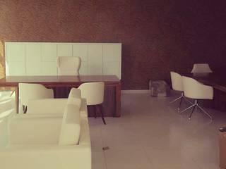 Escritório em Luanda - Design de Mobiliário por dM arquitetura & interiores Moderno