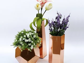Copper Vase Set โดย chocraft