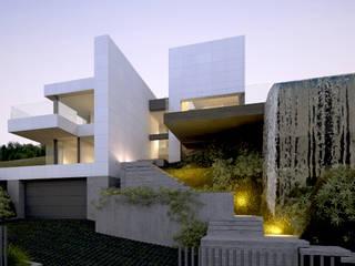 CASA VISUAL Casas de estilo moderno de EAU ARQUITECTURA S.L.P. Moderno